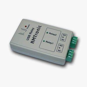 რელე KMTronic Two Channel USB Relay