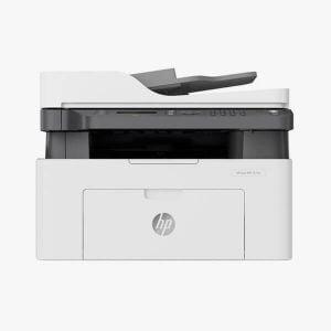 პრინტერი: HP Laser MFP 137fnw Printer - 4ZB84A